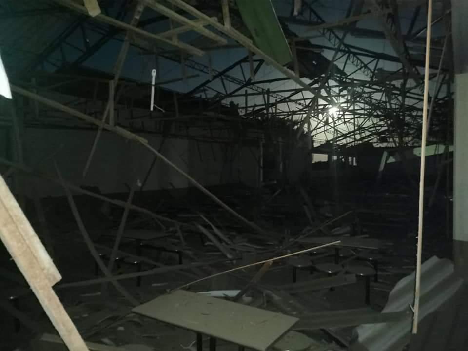 Atacan con fusiles y cilindro bomba a base militar en Tame, Arauca