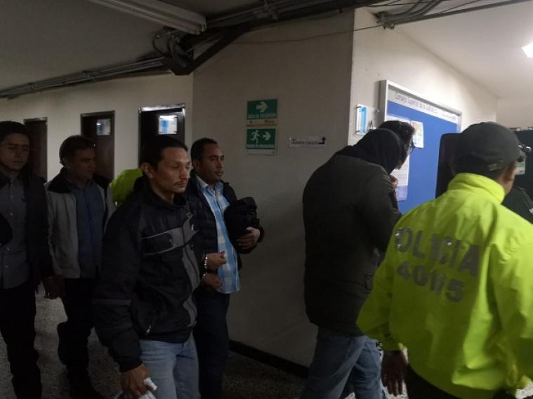 Capturan a presuntos disidentes de las Farc que habrían infiltrado marchas en Bogotá