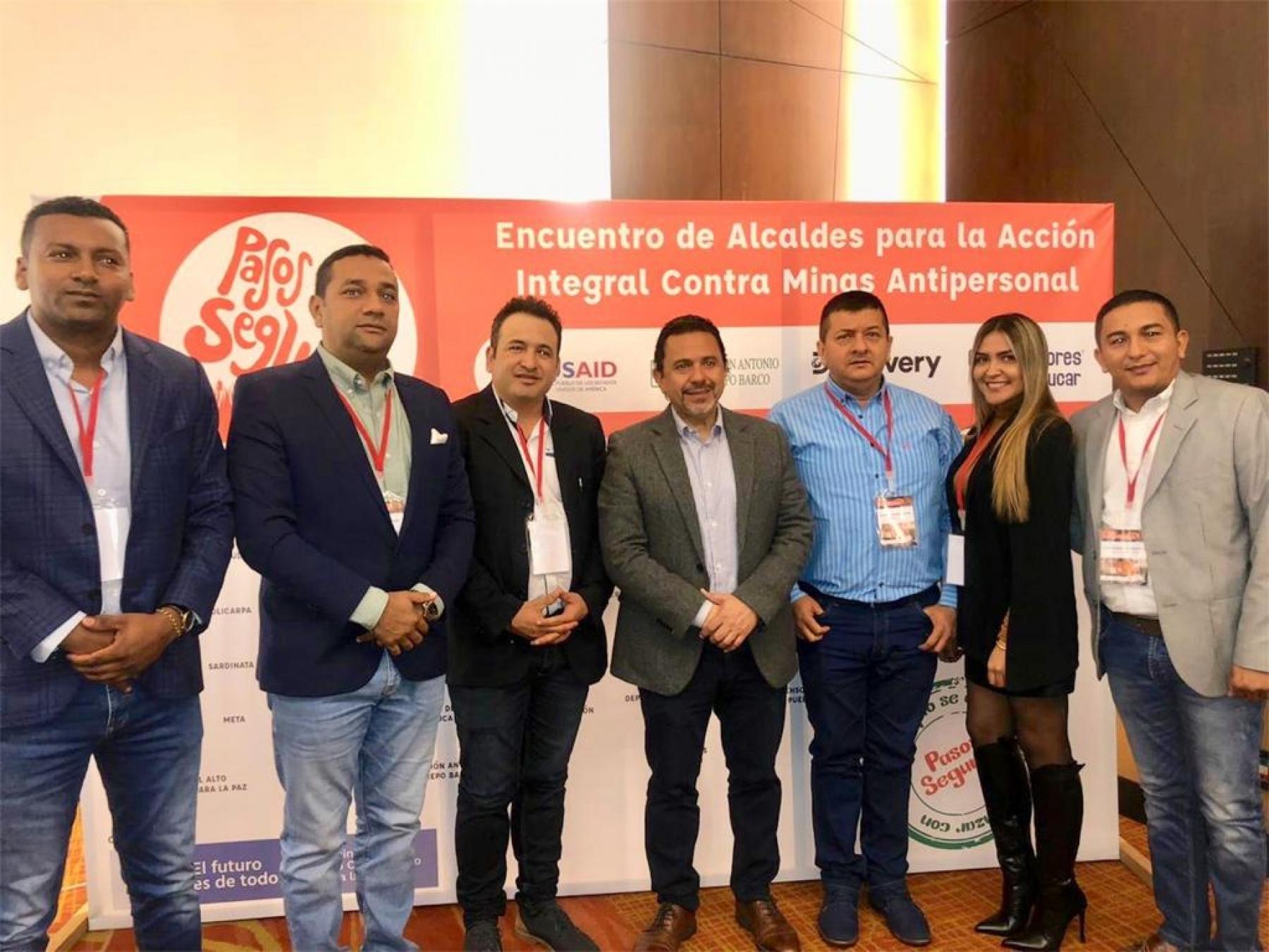Alcalde de Arauca participó de del 'Encuentro de Autoridades Locales para la Acción Integral Contra Minas Antipersonal'