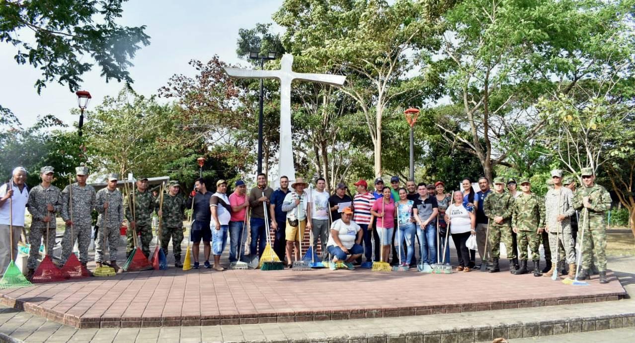 Continúa la campaña de recuperación de parques en Arauca