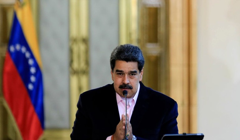 """Maduro pide a los presidentes del mundo su apoyo por la """"persecución"""" de Estados Unidos"""