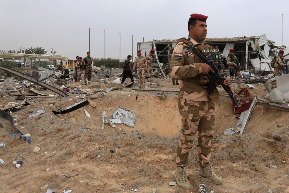 Bombardeo de EE. UU. en Irak deja cinco militares muertos y agrava la crisis con Irán