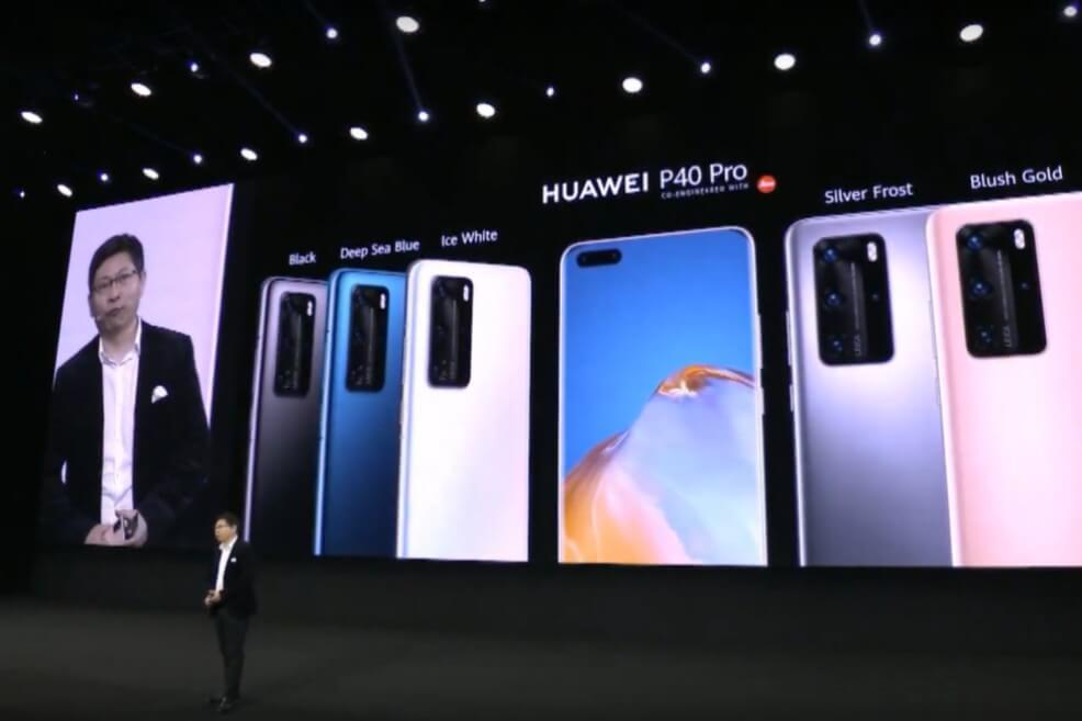 Huawei presenta su línea P40, la competencia de las cámaras profesionales