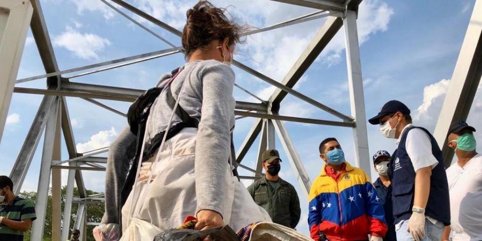 Venezuela cerró paso a sus migrantes que estaban retornando por Arauca