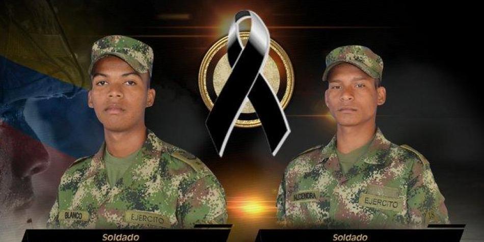 Dos soldados fueron asesinados en zona urbana de Saravena, Arauca