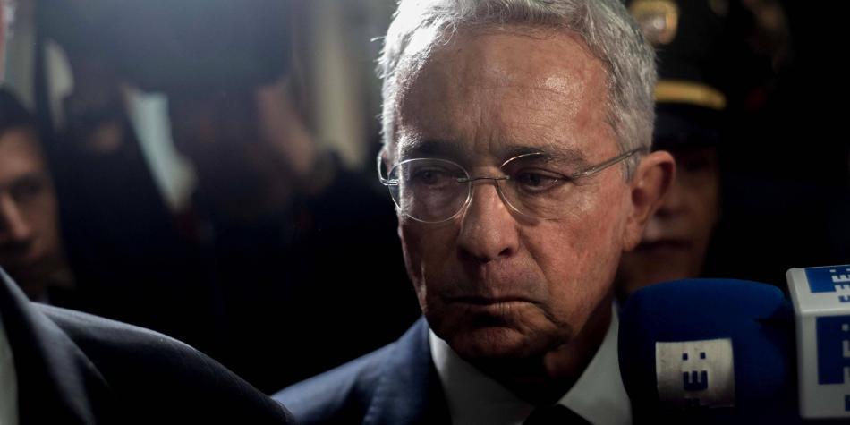 Uribe debe pagar $ 98 millones para garantizar medida de aseguramiento