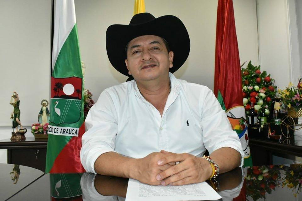 Alcalde de Arauca dio Positivo para COVID-19