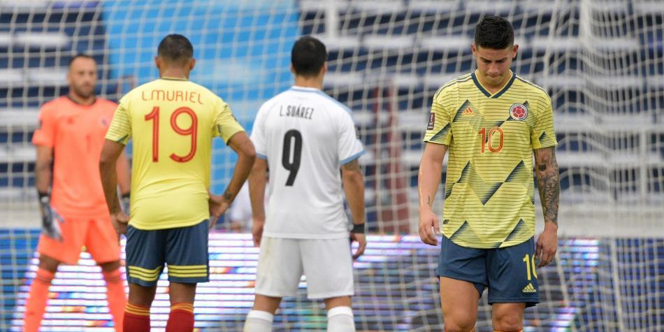 Uruguay goleo a Colombia 3 – 0  en Barranquilla.