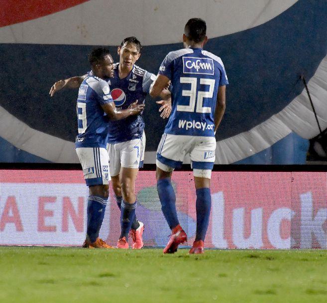 Millonarios goleó al Once Caldas 5-2 por la Liguilla BetPlay