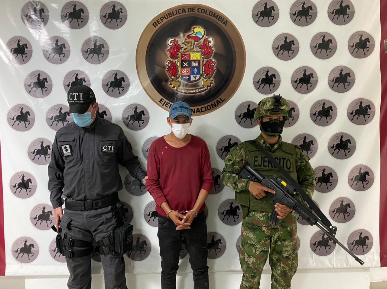 Capturados cuatro integrantes del Eln en Arauca