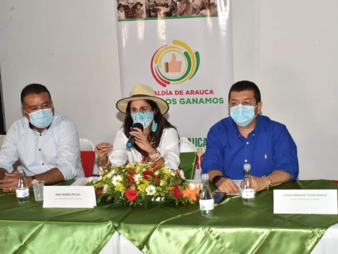 Compromiso por Colombia llega a Arauca para poner en marcha proyectos de inversión y avanzar en la reactivación económica