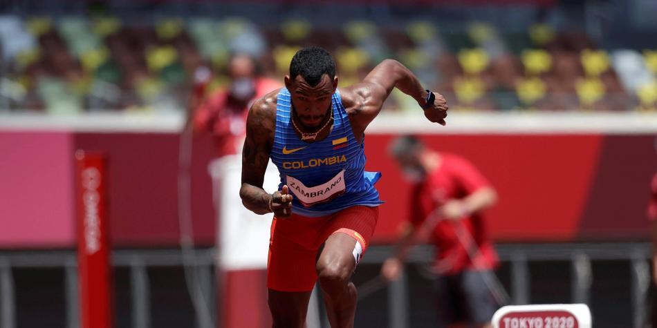 Anthony Zambrano, a la final de los 400 m de los Juegos Olímpicos