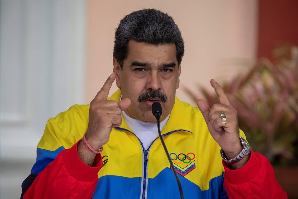 Nicolás Maduro festeja los éxitos de Venezuela en Tokio 2020